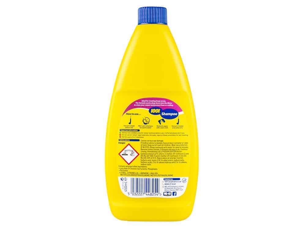 Want A Good Carpet Cleaner Choose 1001 Shampoo 1001