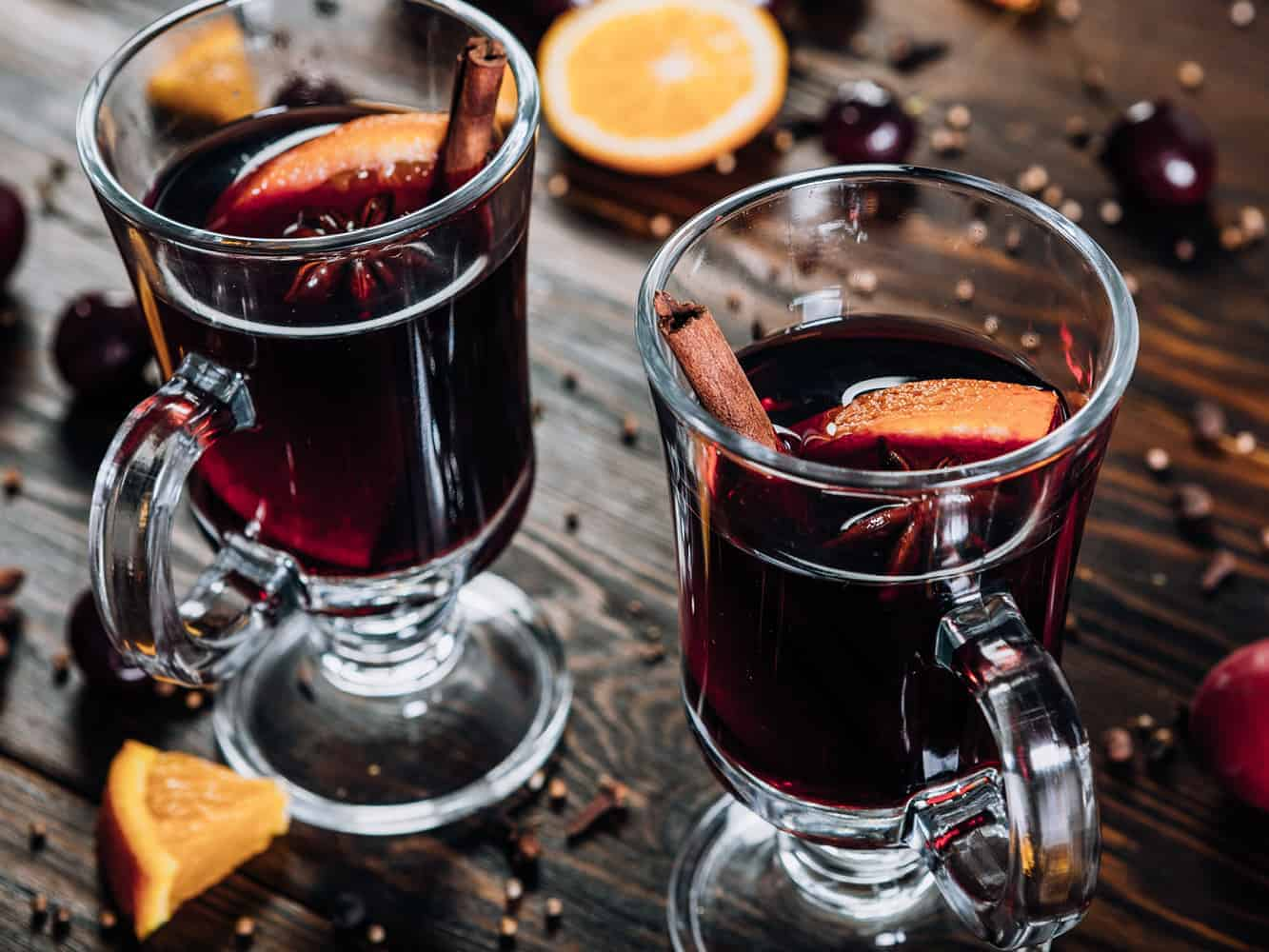 How to get rid of mulled wine stain