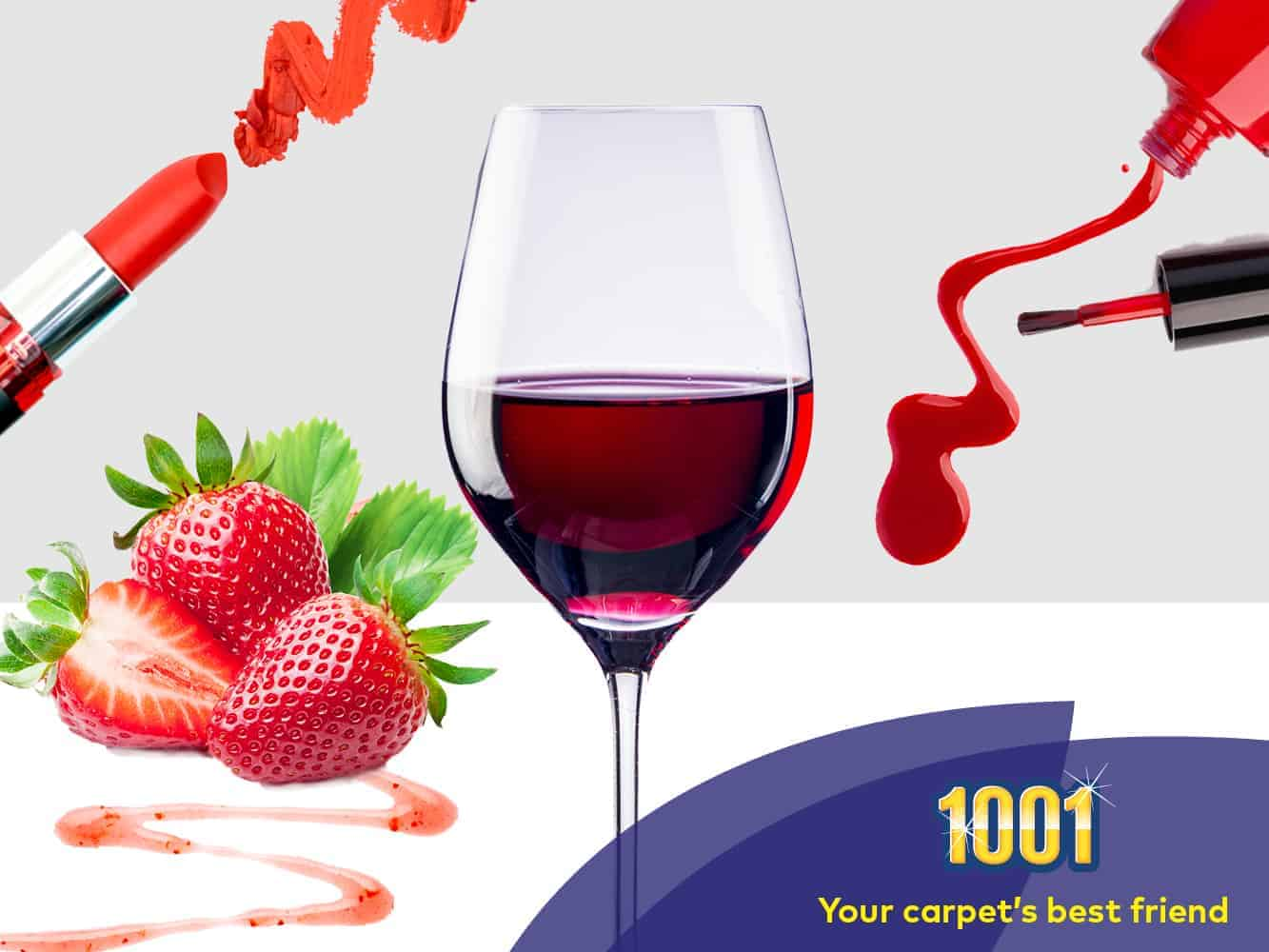 How to deal with red wine on carpet