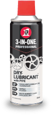 DRY LUBRICANT WITH PTFE