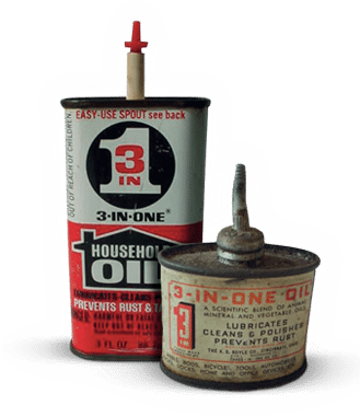 The history of 3 in one oil
