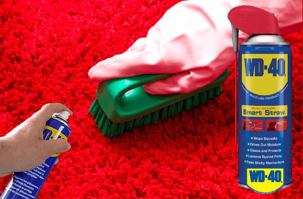 Как да премахнем петна от килима