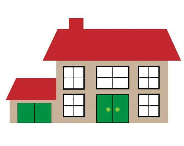 house illustration clipart