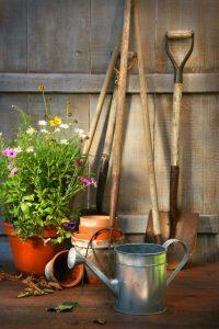 Jak čistit zahradní nářadí
