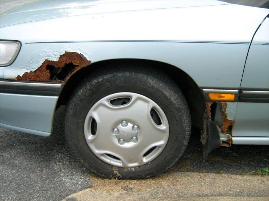 Pět tipů jak zabránit korozi a pečovat o Váš vůz