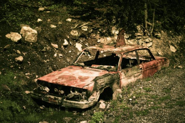 odstranění rzi u automobilů