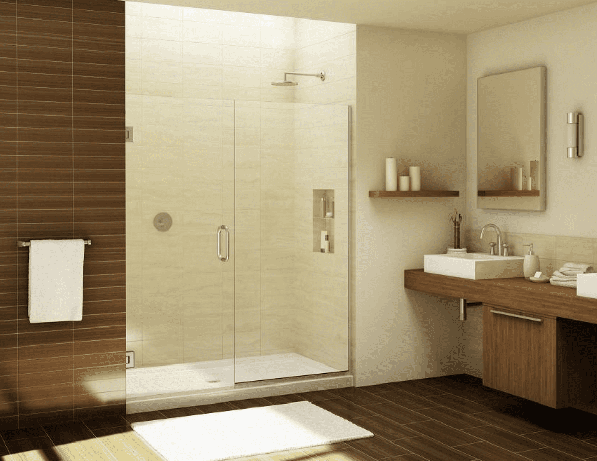 Jak udržet Vaše dveře do sprchy lesklé