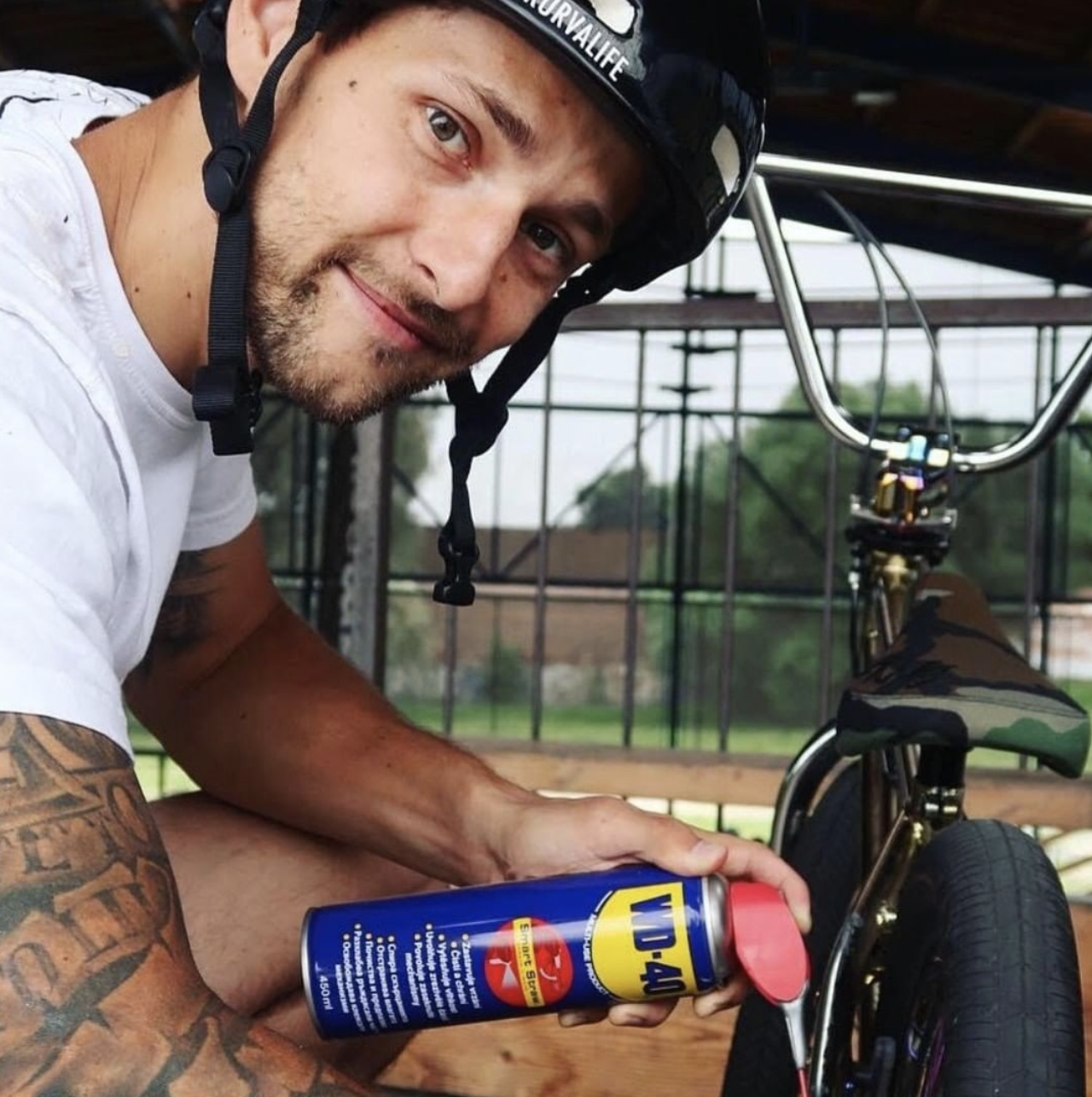 Michael Beran - Freestyle BMX jezdec