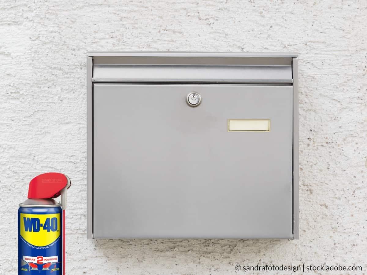 WD-40 - Ochrana poštovní schránky