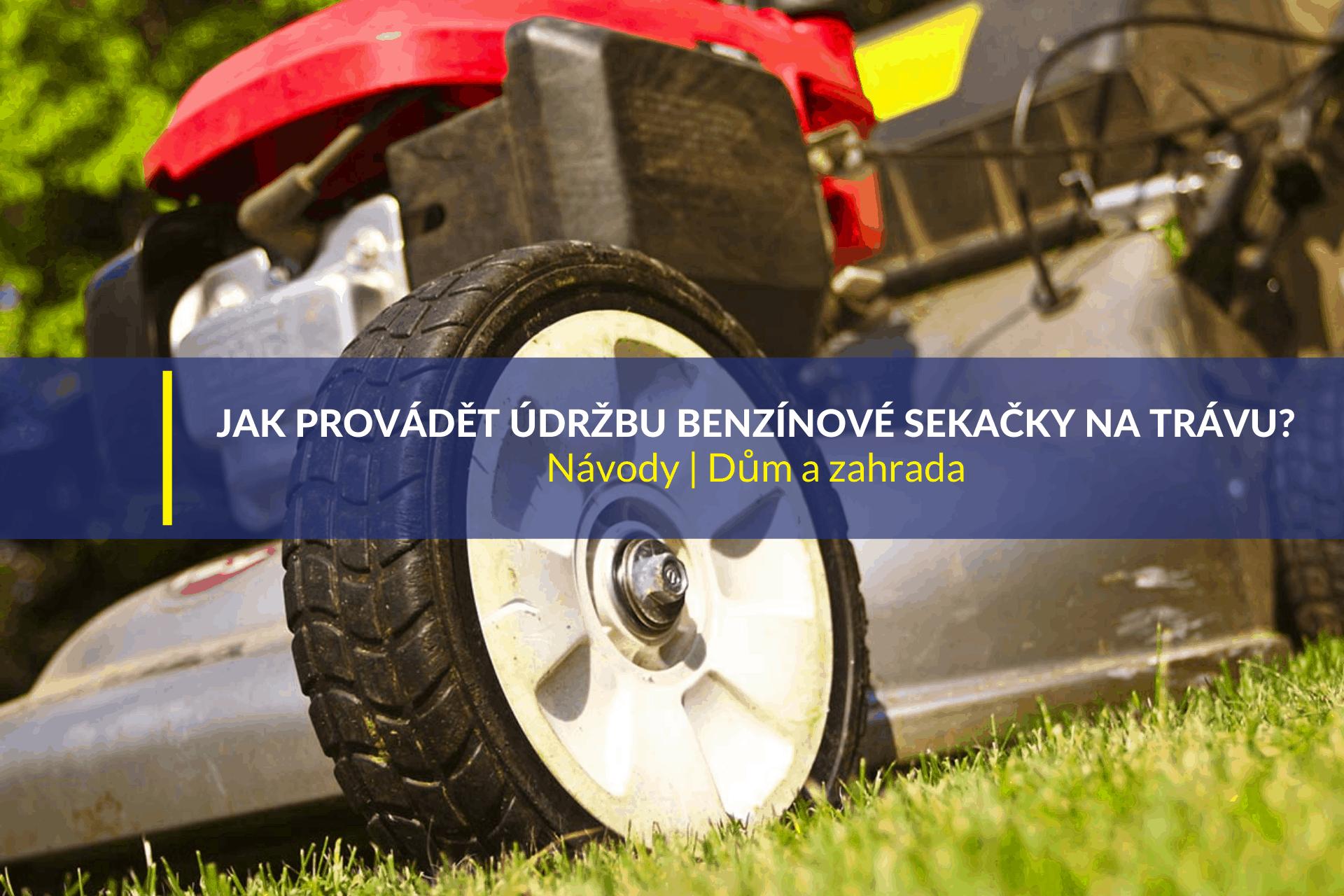 WD-40 - Jak provádět údržbu benzínové sekačky na trávu