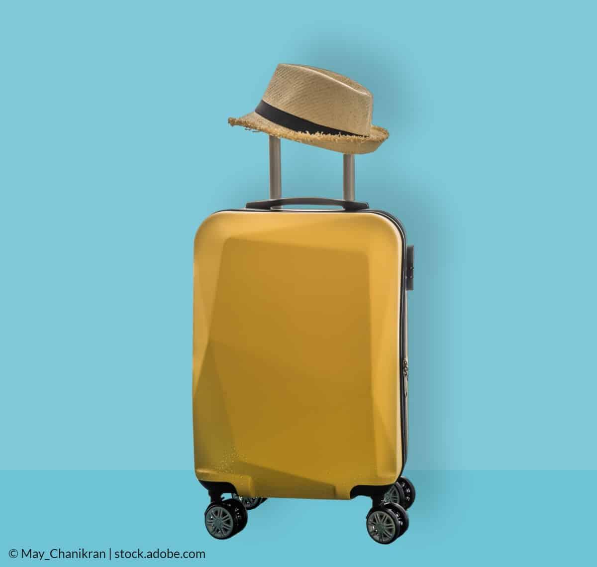 Jak opravit kufr na kolečkách
