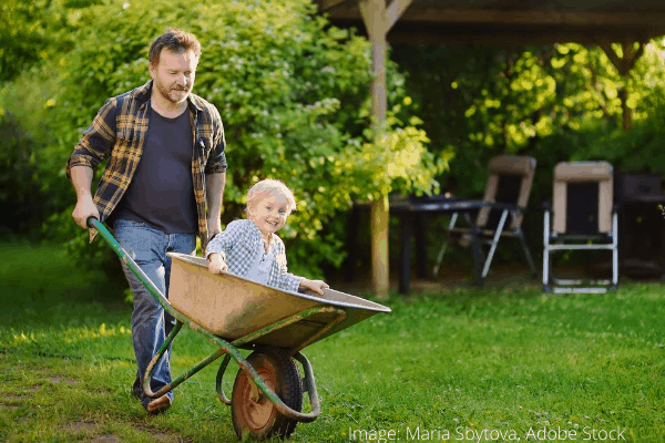 Jak udržovat zahradní kolečko po použití