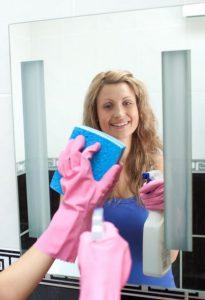 Enkle tips og tricks til fjernelse af vandpletter på spejlet