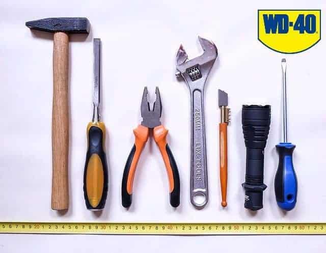Have værktøj opbevaring