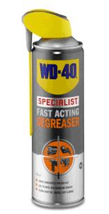 Rengøringsværktøj med WD-40 Specialist affedtningsmiddel