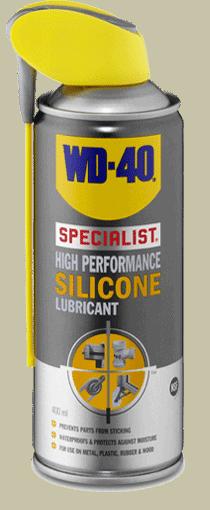 højtydende silikonesmøremiddel