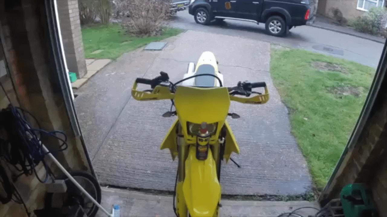 wd40 motorbike plastics