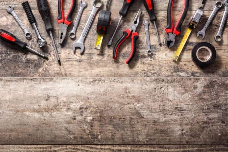 rengør dit værktøj