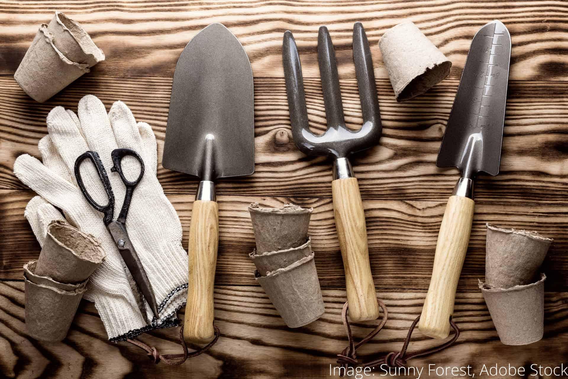 sådan rengøre dine haveredskaber