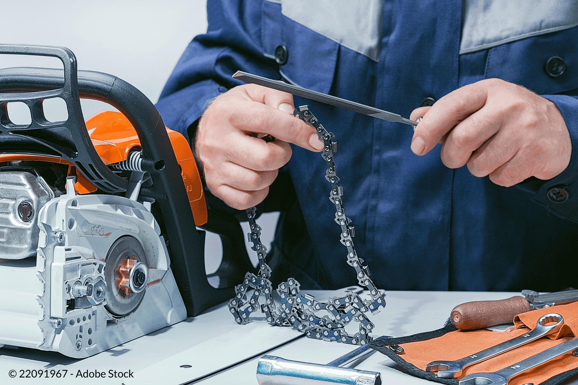 skærer kæden af din motorsav
