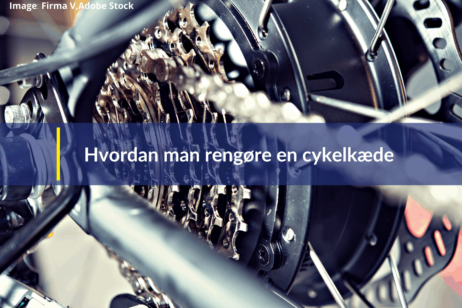 hvordan man rengøre en cykelkæde
