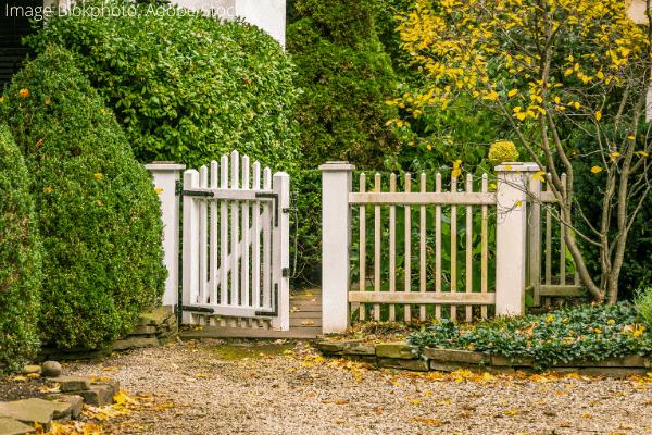 fix and lubricate garden gate (3)