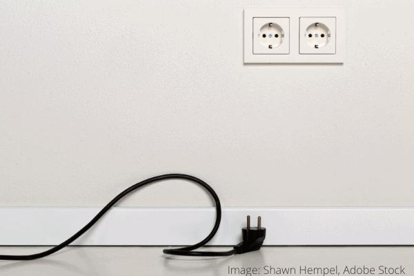 renser beskidte strømledninger