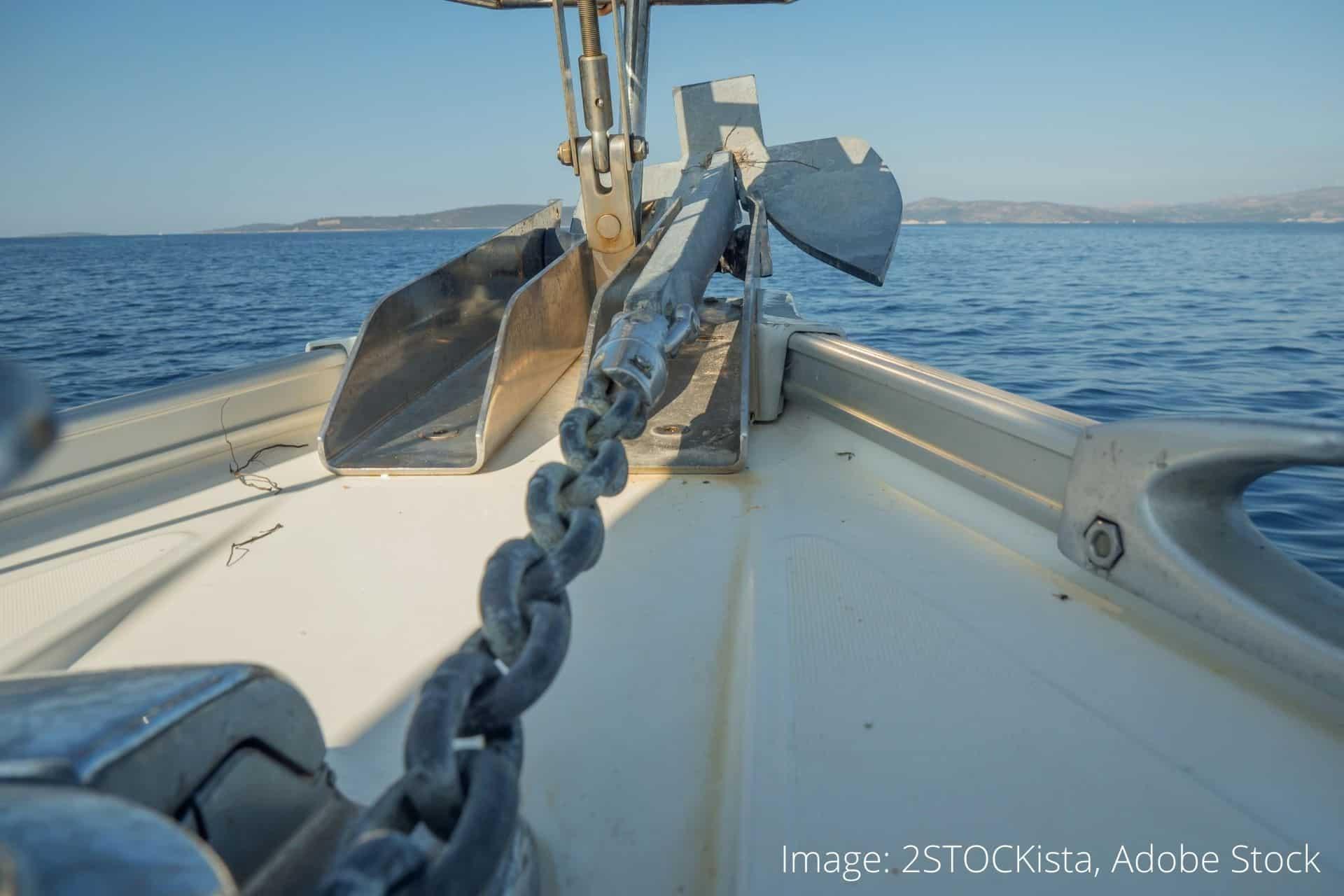 smøre kæderne med på sejlbåde