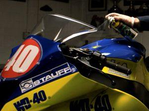 Motorradpflege - Lackpflege schnell und einfach