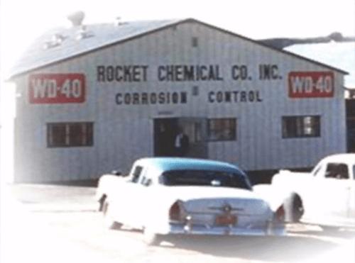 WD-40 Rocket Chemical Company während der 1960er