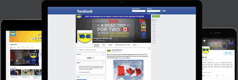 PM: Neue Webseite - WD-40 startet online neu durch