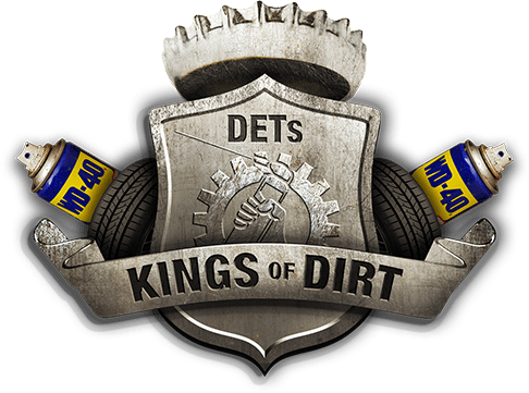 WD-40 Kings of Dirt Wappen