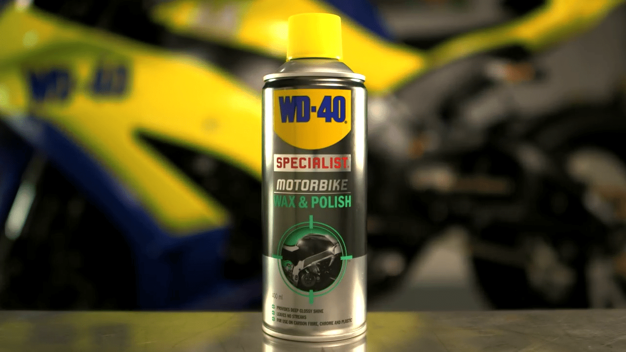 wd 40 specialist motorbike chain wax wd 40. Black Bedroom Furniture Sets. Home Design Ideas