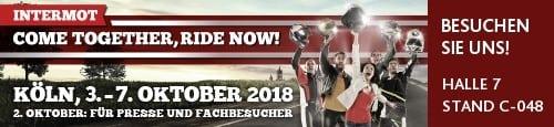 Intermot 2018 - Besuche uns in Köln vom 3. - 7.10.
