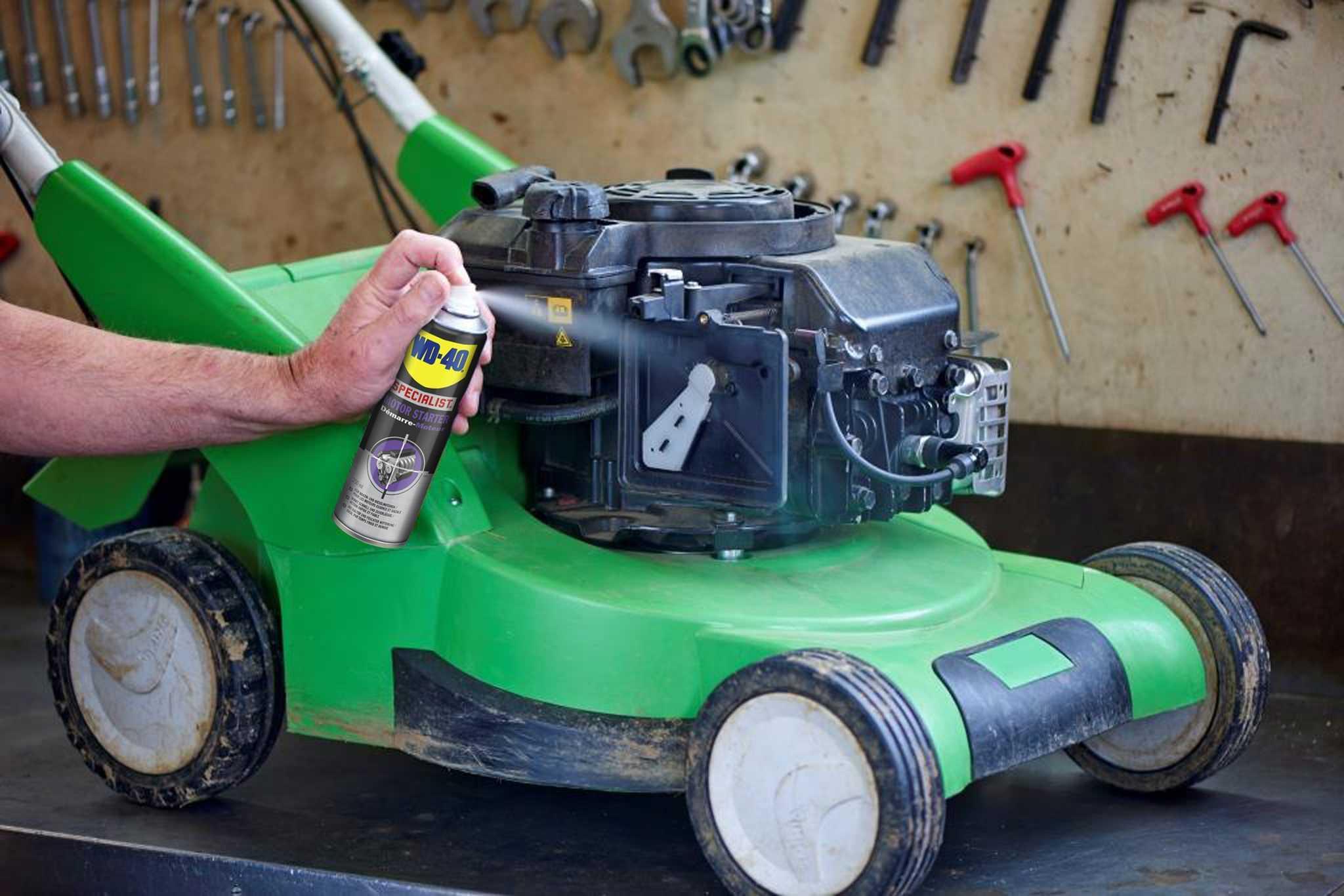 wd40specialist anwendung motor starter