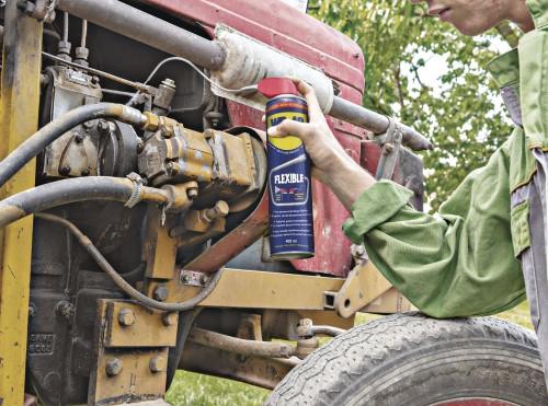 wd 40 flexible erreicht unerreichbares traktor