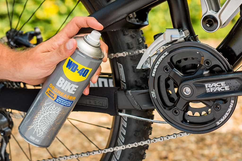 Fahrradketten reinigen, ohne sie abzunehmen