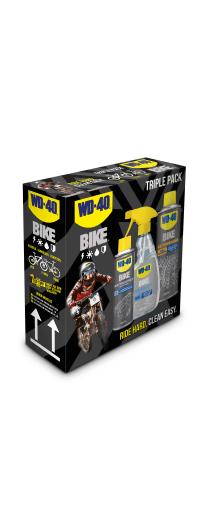 wd40 bike triple pack Fahrradpflegeset