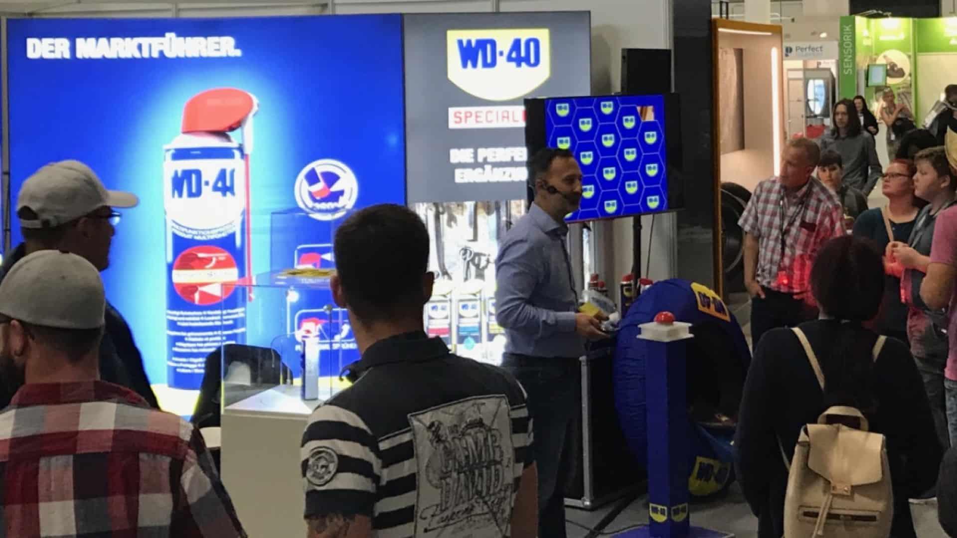 WD-40 auf der WM Werkstattmesse Berlin