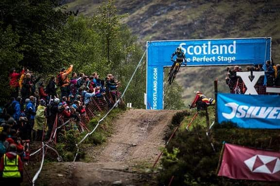 Danny Hart dh worldcup fort william 2019 2