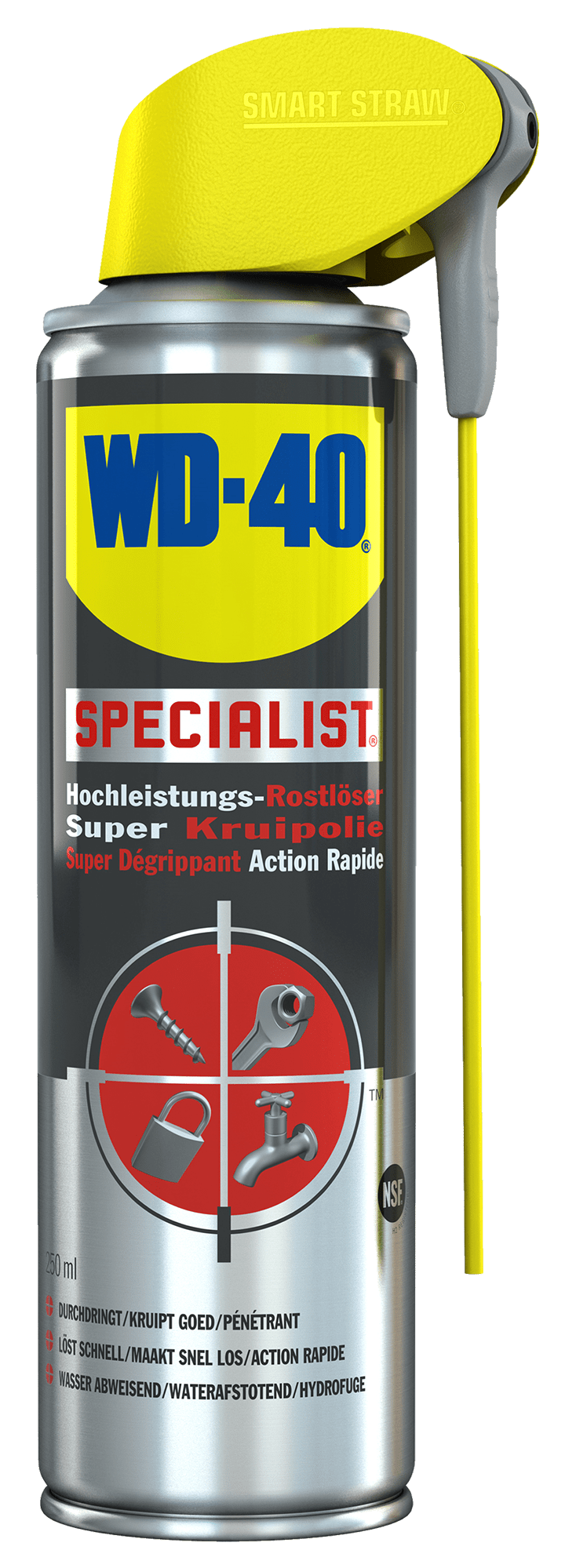 wd40 250ml specialist rostloeser