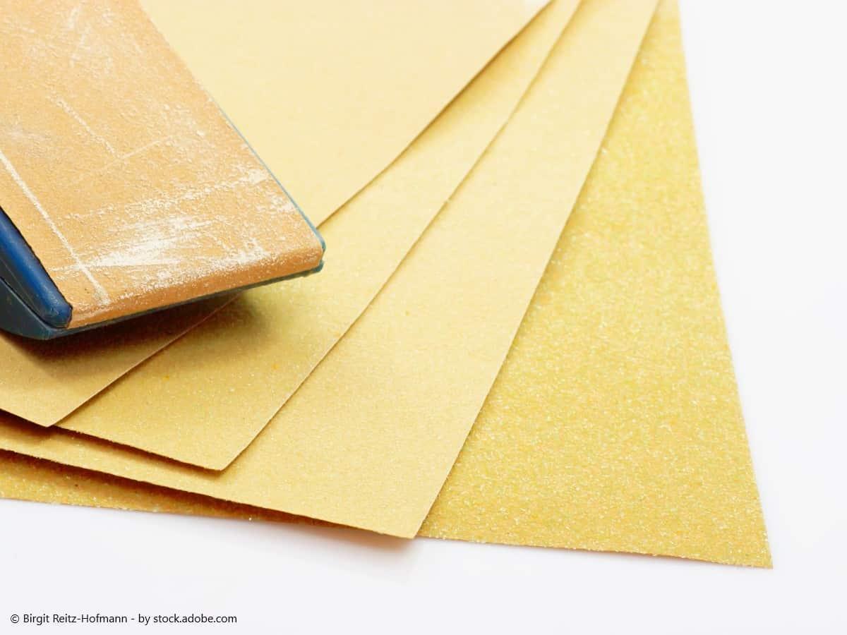 rost lösen schleifpapier