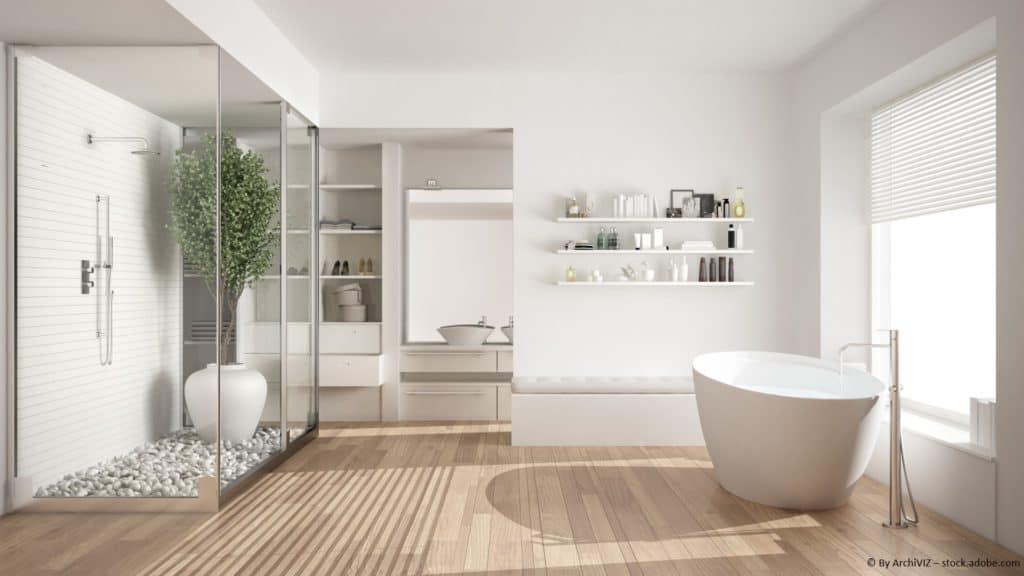Wie Sie Ihre Duschkabine einfach glänzend halten können