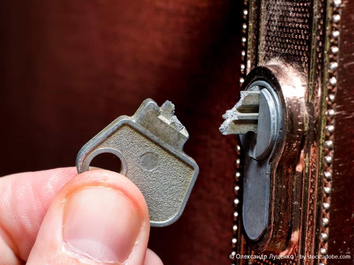 schlüssel entfernen