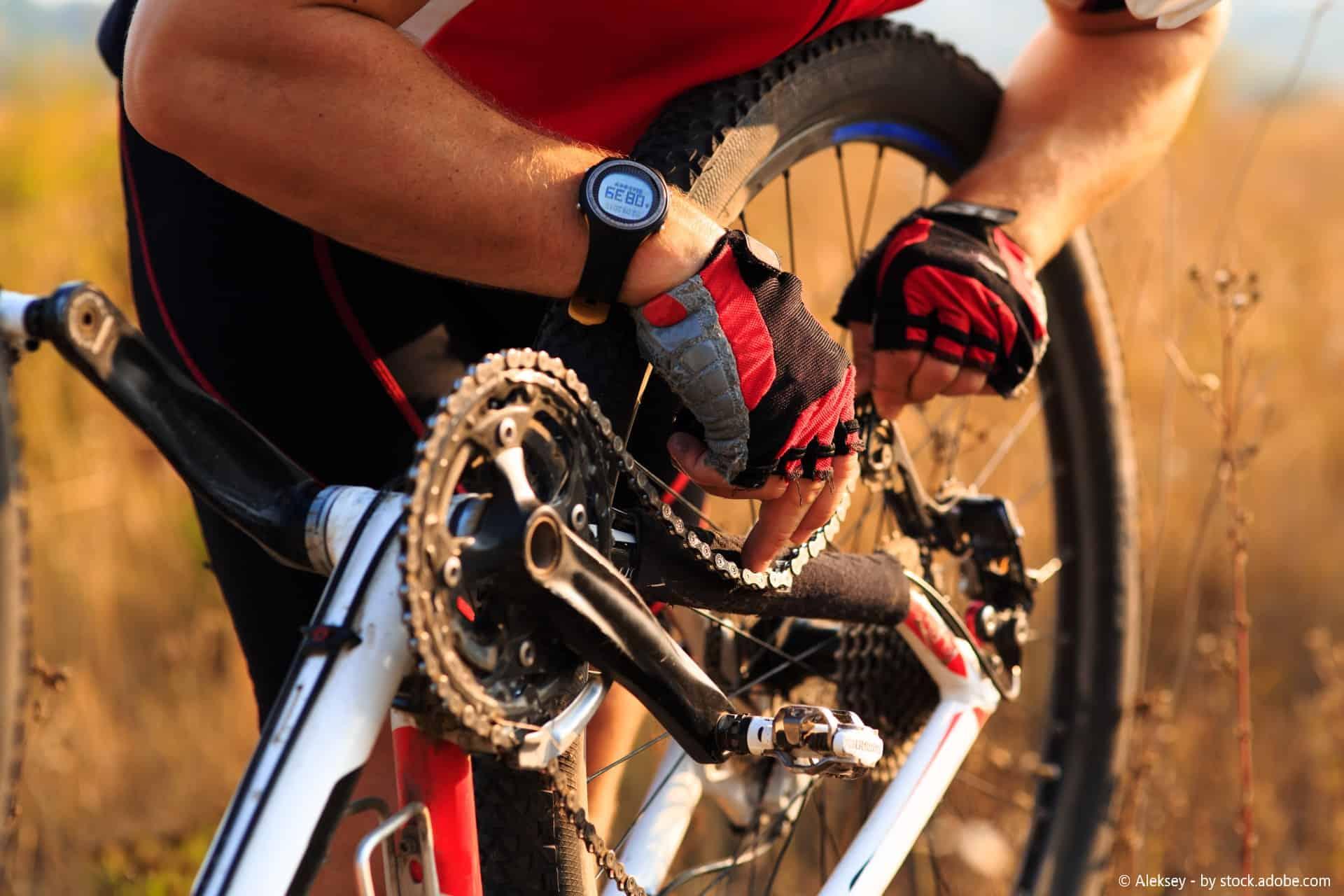 gebrochene fahrradkette reparieren