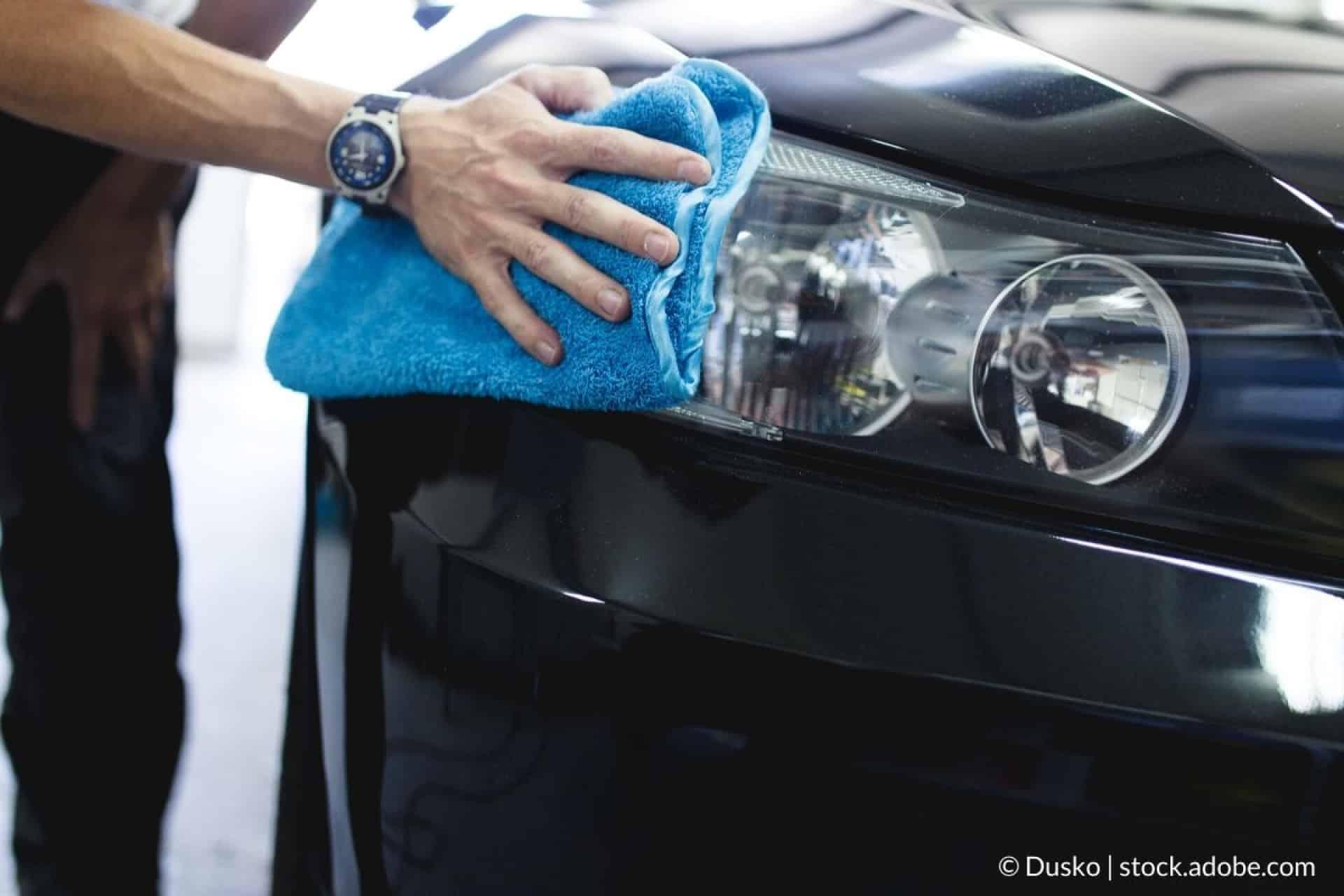 groß autoscheinwerfer reinigen