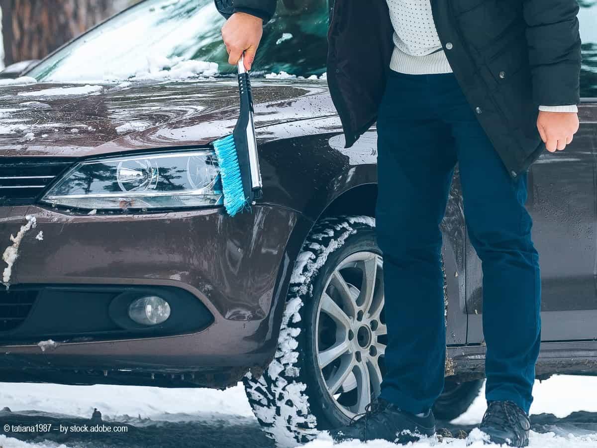 autopflege im winter sauber halten