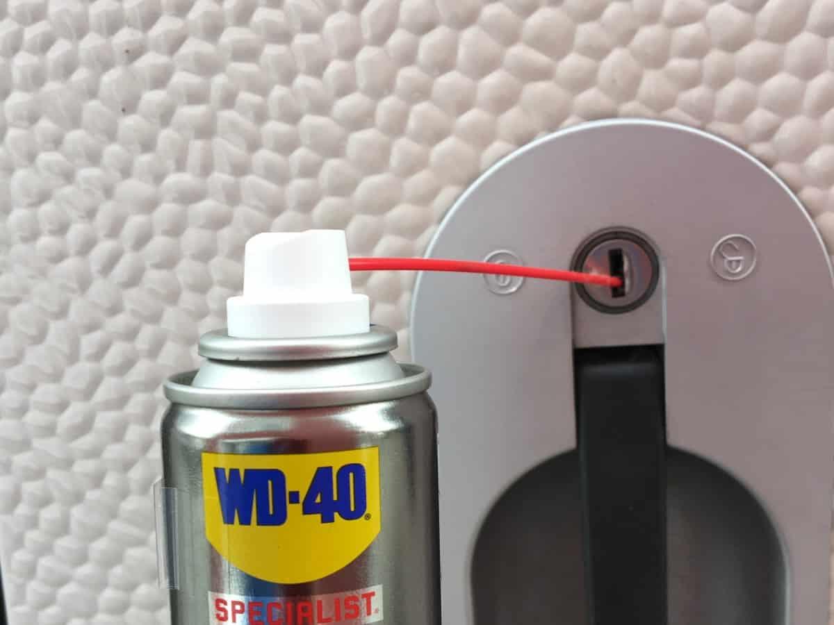 schliesszylinderspray
