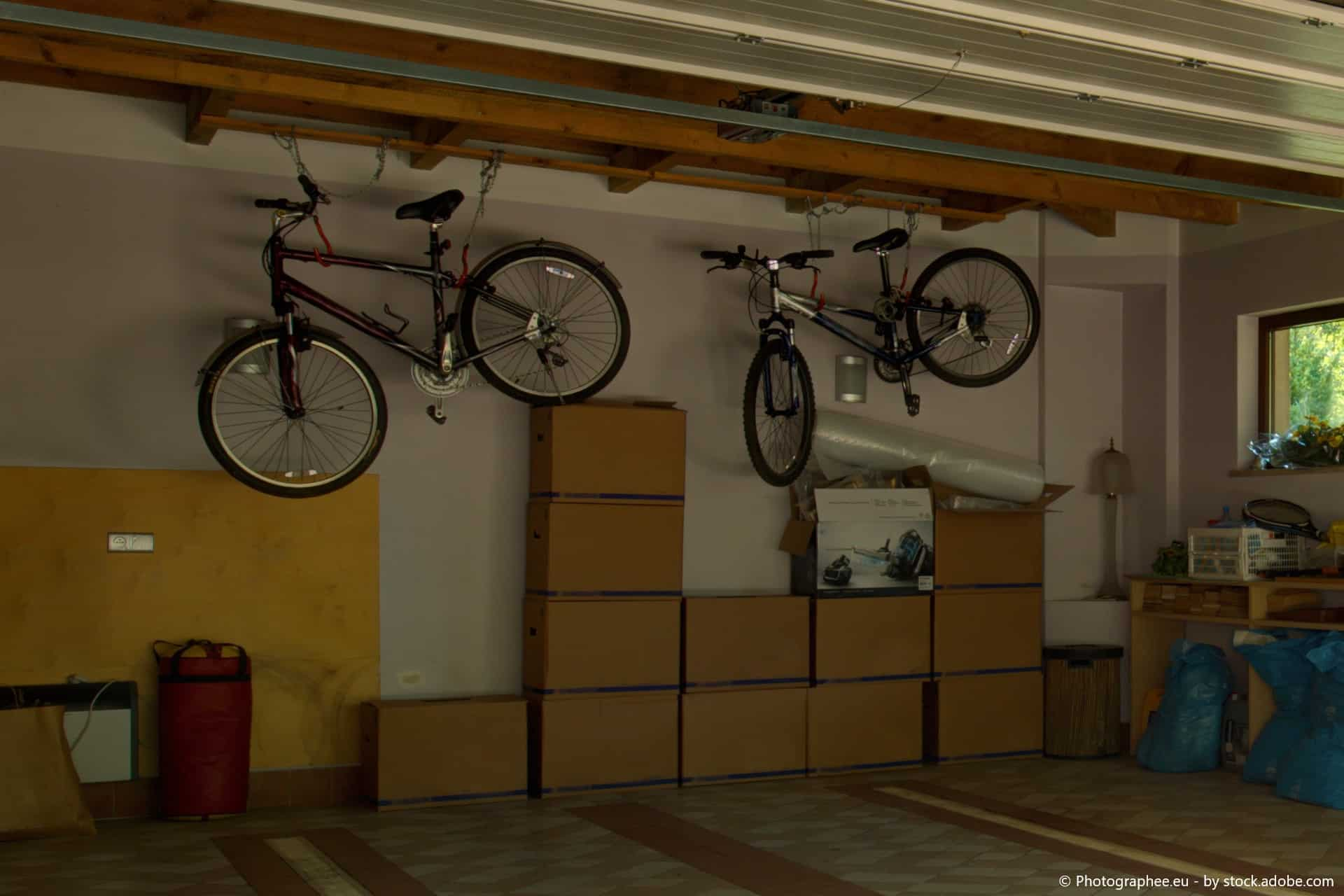 fahrrad einlagern