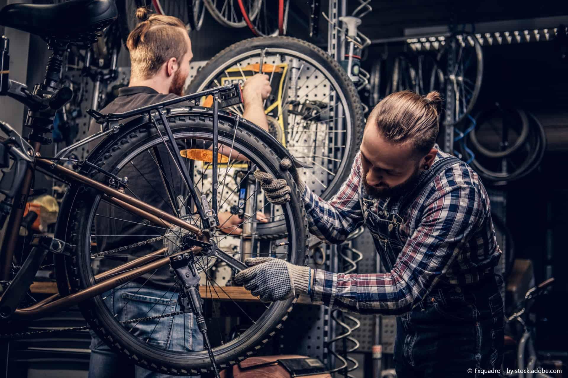 fahrrad überprüfen